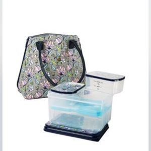 Fit & Fresh Lawrence 7 Piece Floral Lunch Kit NWT